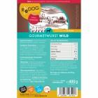 Gourmetwurst Wild 400g (1 Stück)